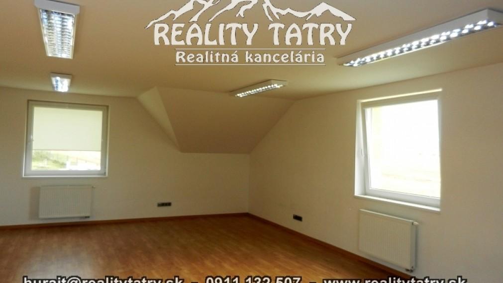 Kancelária 49 m2 v Poprade - Novostavba Super stav !!!