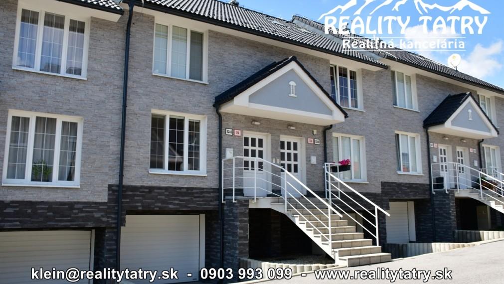 Rodinný dom v radovej zástavbe NOVOSTAVBA s garážou a terasou v tichej lokalite Spišská Sobota - TOP STAV - ODPORÚČAME !!!