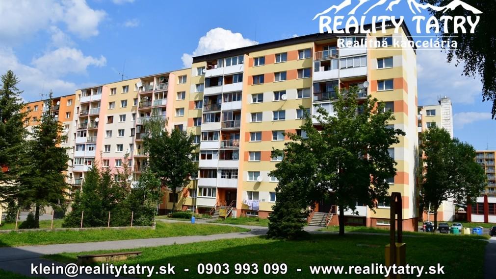 Slnečný 3 izbový byt s balkónom po rekonštrukcii v Poprade, ul. Záborského - ODPORÚČAME !!!