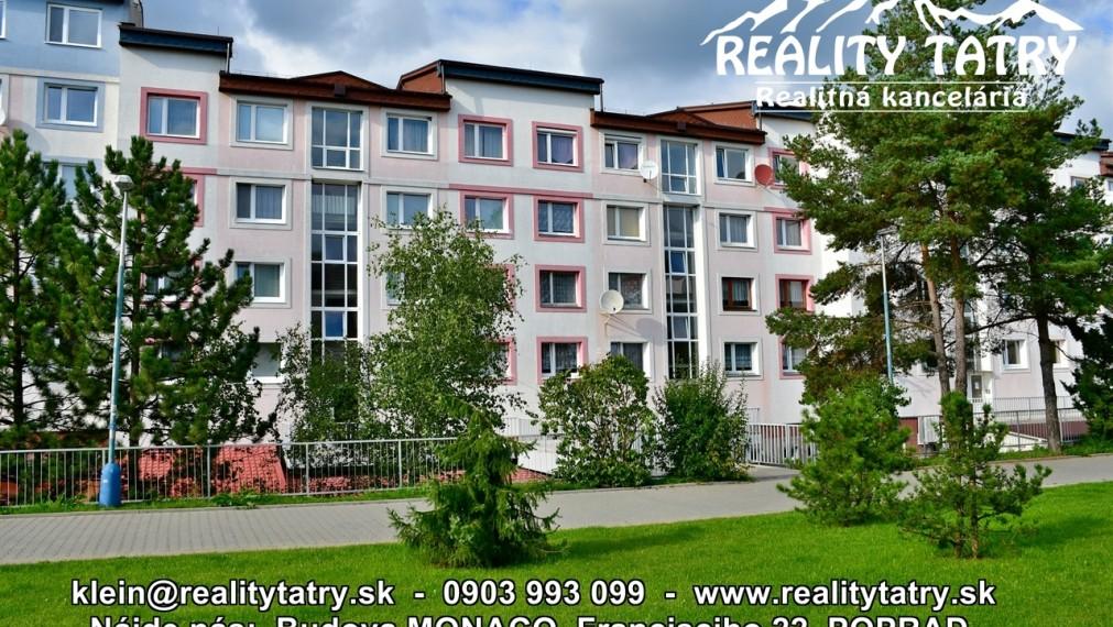 Mezonetový 4 izbový byt s balkónom 105 m2 v samotnom centre v Poprade - TOP PONUKA !!!