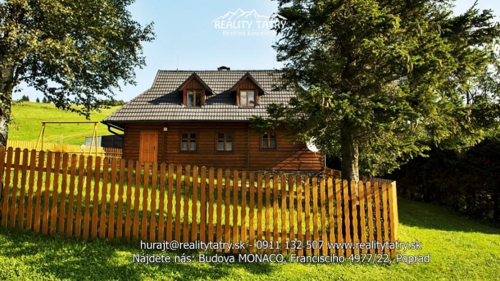 Rekreačná chata - prízemie v tichej, lukratívnej lokalite Ždiar - Odporúčame !!!