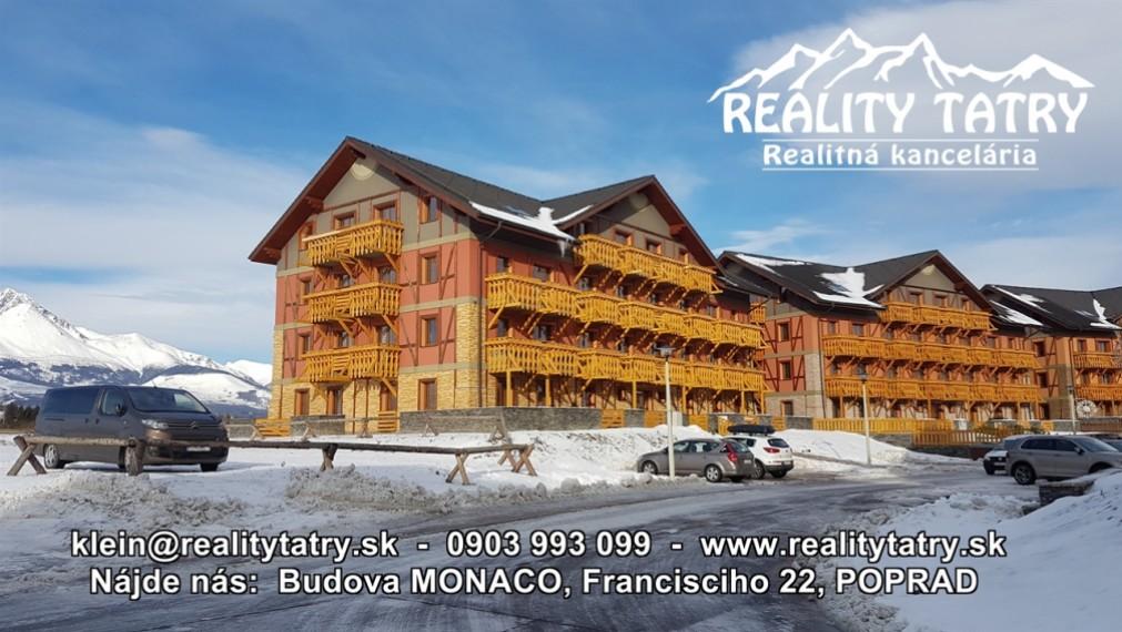 Slnečný 2 izbový byt s dvoma balkónmi vo Veľkej Lomnici - TOP STAV - ODPORÚČAME !!!