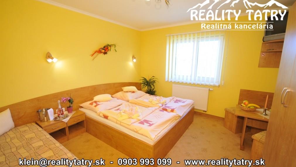 Apartmán v Penzióne 34 m2 v príjemnom prostredí vo Veľkej Lomnici - ODPORÚČAME !!!