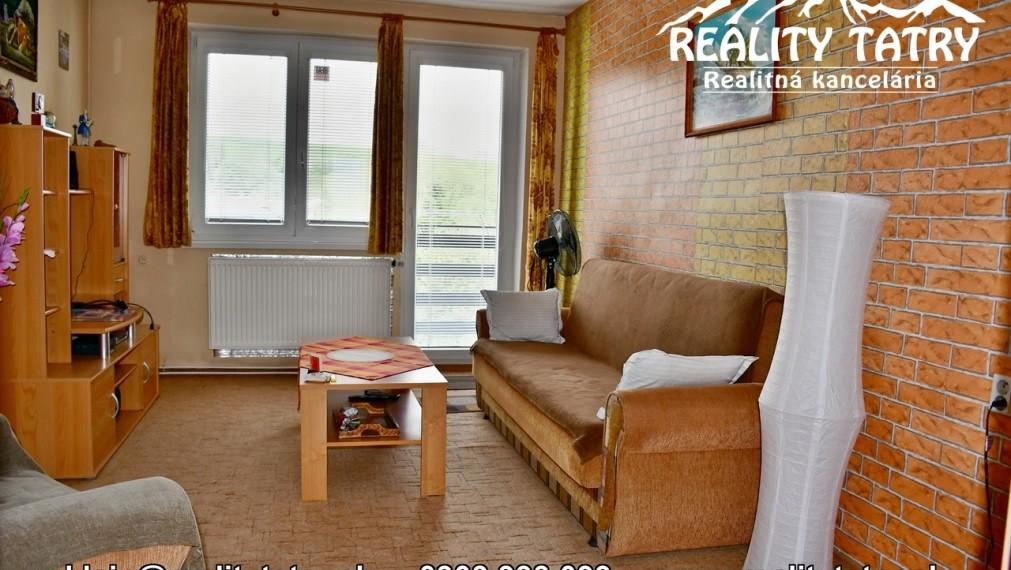Veľký 3 izbový byt s balkónom 81 m2 a GARÁŽOU - Liptovský Mikuláš - Ľubeľa - ODPORÚČAME !!!