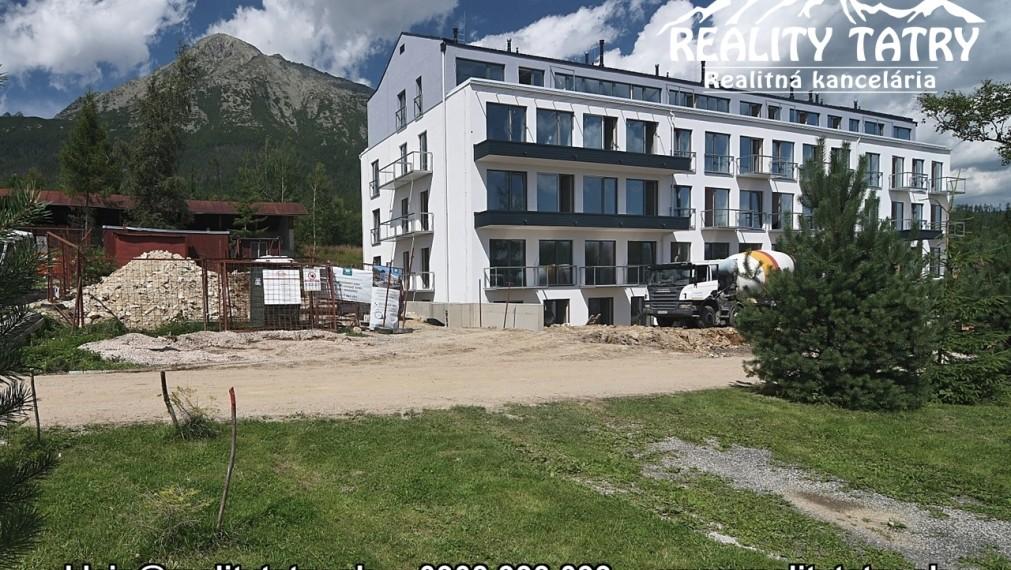 Apartmán 2 izbový bez balkónu 40,40 m2 v AD BERNARD - moderné a pokojné bývanie vo Vysokých Tatrách - Starý Smokovec