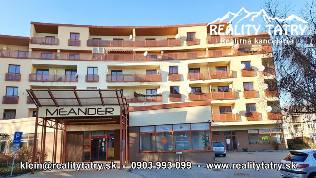Byt 2 izbový s balkónom 50 m2 v samotnej blízkosti centra Poprad - ODPORÚČAME !!!