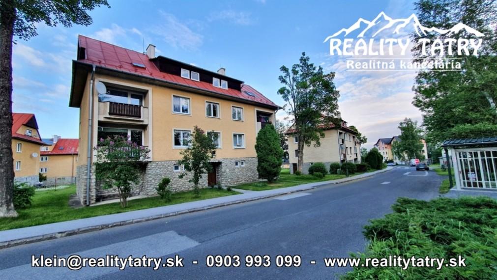 Úžasný 2 izbový byt upravený na 4 izbový v Dolnom Smokovci - TOP STAV - ODPORÚČAME !!!